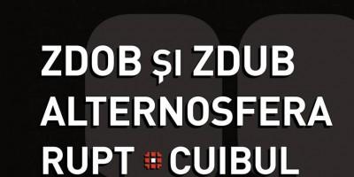 Afis Concert dinBasarabia 2017 - Zdob si Zdub Alternosfera Rupt Cuibul